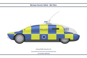 Fantasy 601 Maximum Security Vehicle Met Police by WS-Clave
