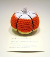 Amigurumi Candy Corn Pumpkin by Dragonrose36