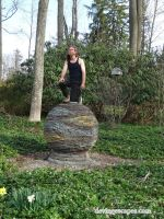 Dry Stone Sculpture, I climb everything I build by Devine-Escapes