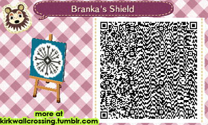 ACNL House Branka Heraldry by meglish