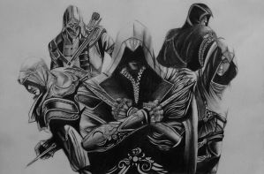 Assassin's creed  by DyutiMistry