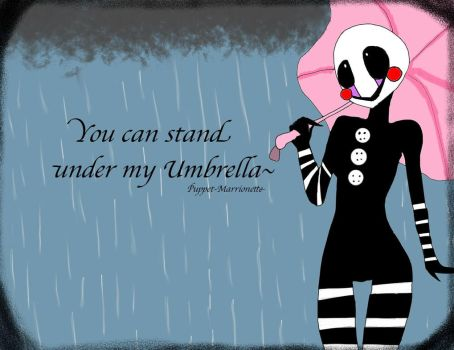 My Umbrella by Puppet-Marrionette