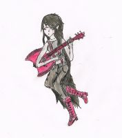 Marceline and her Base by animelover4ev