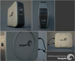 Seagate Barracuda by jurX-CG