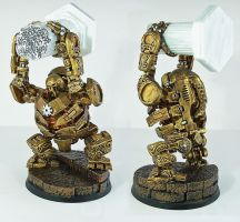 Golden soldier 2 painted by deathsblades
