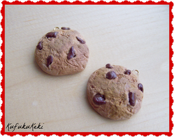Chocolate Chip Cookie Charms by Rhiannon-San