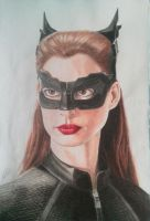 Catwoman by AndresBellorin-ART