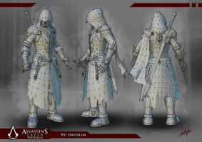 Assassin's Creed Redesign - Wireframe by davislim