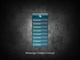 Concept: Messenger Gadget by digitalsoft