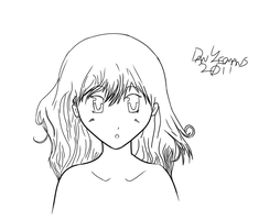"My First ""Serious SAI Doodle"" - Not Awfu by DanYeomans"