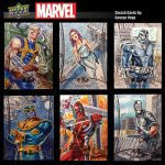 Sketch cards Marvel Premiere by shaotemp