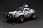 humvee scout by Rofelrolf