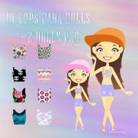 Tops png para dolls by PiTuFiNa7
