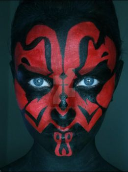 Darth Maul, Star Wars by MizzyMadness