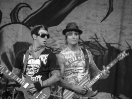Zacky V. and Synyster Gates by HitMachine