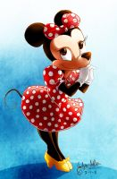 Minnie Mouse by MistyTang