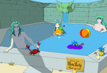 Colosseum 2015, Round 1: Tolbi Pool Party by AthenaBlackquill