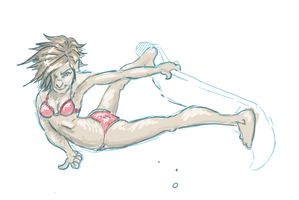 Surfer Chick by arinfu