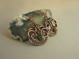 "Earrings ""Juniper"" by UrsulaOT"