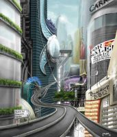 Future City.Population 0 by MOE-N