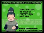 Impossible Lines 02_Shikamaru by blue-iceland