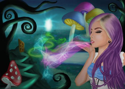 Melice in Wonderland by MarcCyall