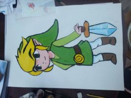 Toon Link Acrylics by HylianGuardians