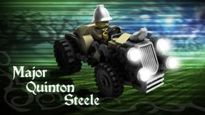 LEGO Monster Fighters - Quinton Steele by RobKing21