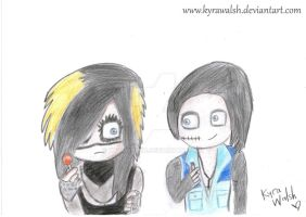 Andy Biersack, Then and now. by KyraWalsh