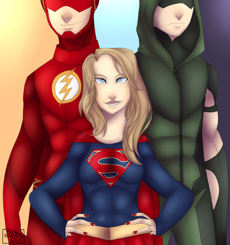 Supergirl by Soulsaber67
