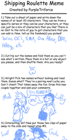 Shipping Roulette Meme by TemBrook