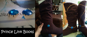 Prince Link Progress - Boots by boxthissideup