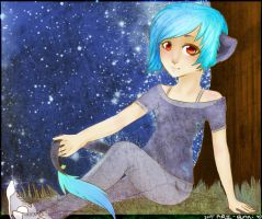 .:Starry eyed:. by Maemi-Kuma