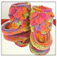 Taika baby booties by Coccis