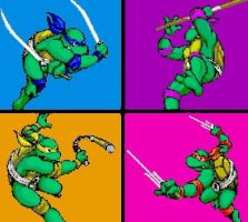 TMNT Turtle Power Forever by DevintheCool