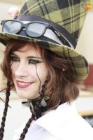 FemHatter at the MidZomer Fair by JennaMarwell