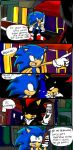 sonic and shadow beans! by Blinded-Djinn