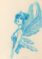 Blue Fairy by shidonii