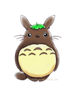 Totoro by chichicherry123