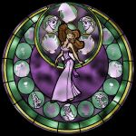 :::Stained Glass Megara::: by Leah-Chan