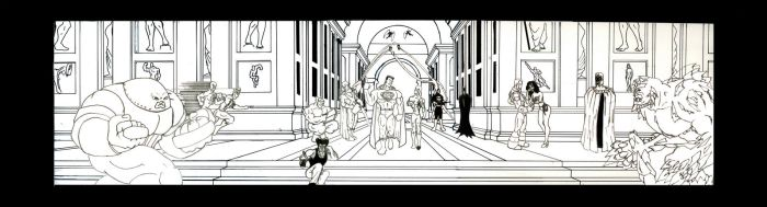 Comic School of Athens by JAM32