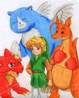Link's Animal Friends by Malu-CLBS