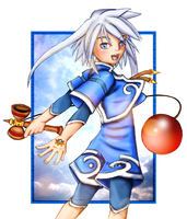 Genis Lineart - Coloured by sojourney