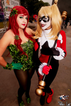 Ivy and Harley by karolzeenha