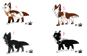 Cat adopts batch 1. by Biirdi