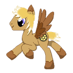 Gold Gear Pixel by dragons011
