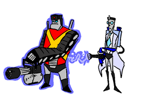 TeamFormers 2: Heavy and Medic by SymbolsWriter