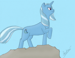 Trixie  As Drawn In Awesome Style  By Klarkken by GreenGimmick