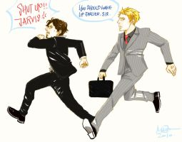 Movie Tony and Jarvis by Noelman