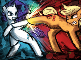 (45minutechallenge)rarijackfight by luminaura